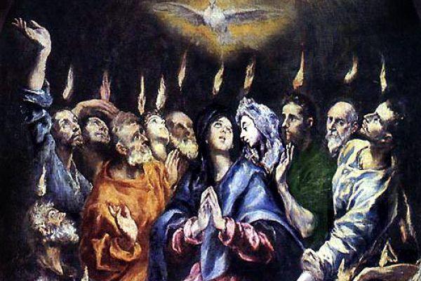 Ogłoszenia duszpasterskie: Zesłanie Ducha Świętego