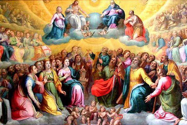 XXXI Niedziela Zwykła Uroczystość Wszystkich Świętych.